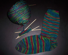 Wollmeise Suzanne - Sock 1