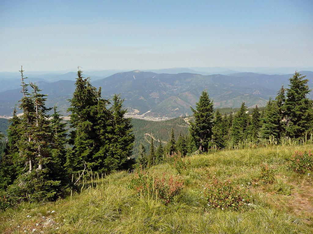 View from Silver Mountain