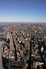 View from the WTC towers