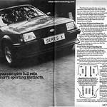 Ford Escort Mk3 Series-X Advert