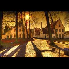 Audrey Dreamed Again (Dimitri Depaepe) Tags: trees sun bravo shadows belgium belgie brugge bruges hdr beguinage themoulinrouge magicdonkey aplusphoto greatlighto tyxxxxxxxxxxxxxxxxxxxxxx