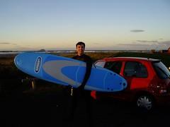 Surfing at Dunbar