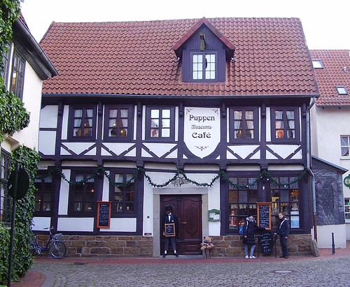 Minden Germany  City pictures : Puppen Museums Café, Minden, Germany