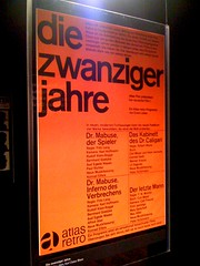 die zwanziger jahre (Simon Zirkunow) Tags: film germany movie poster exhibition sixties akzidenzgrotesk twenties mabuse filmkunstgrafik