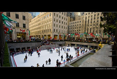 Ice Rink at Rockefeller Plaza (say.fromage) Tags: christmas plaza new york xmas nyc newyorkcity winter usa snow ny newyork ice america holidays iceskating centre skating rockefellercenter center rink rockefellercentre rockefeller rockerfeller rockefellerplaza rockerfella rockefella rockefellacenter iceskatingrink rockefellacentre diamondclassphotographer rockefellaplaza