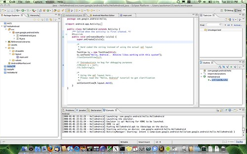 eclipse ide with android