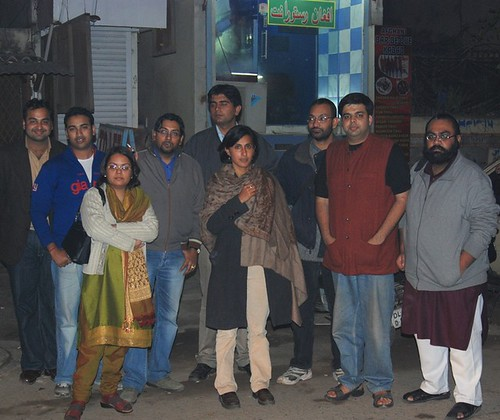 In Front of Afghan Restaurant, Lajpat Nagar
