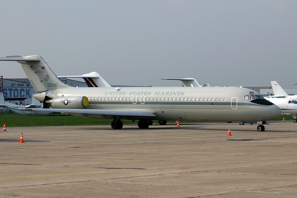 The Marines Has A Secondary Meaning These Days Operate Last Pair Of Some 57 Mcdonnell Douglas Boeing Dc 9 C Military Jet
