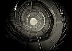 The Lighthouse EC06-09F-005 (Euan Craine (http://photo.im)) Tags: building monochrome architecture spiral scotland stair glasgow interior step staircase mackintosh archidose