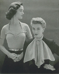 50's pointy collar (apples and aspen) Tags: knitting inspirations