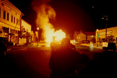 Action ..Camera........... (Outrageous Images) Tags: movie fire colorado explosion bats fruita mikemurphy 81521 outrageousimages davewadsworth