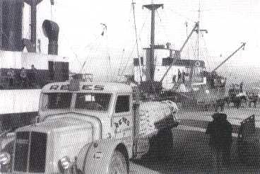 Muelle comercial. Años 50.
