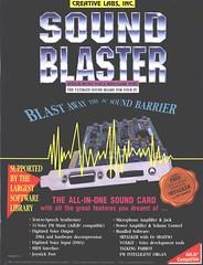 Sound Blaster 1.5 AD Front