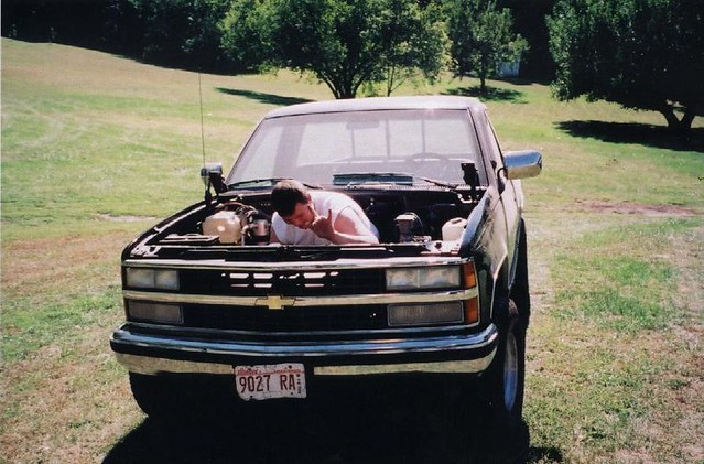 4x4 chevy 1991 greenup k1500