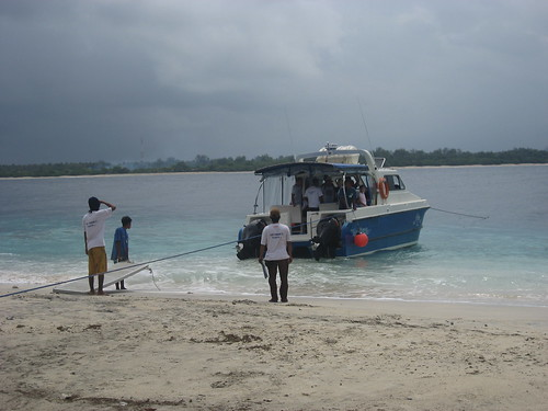 The Gili Cat speed boat