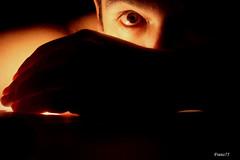 Eye in the darkness (franz75) Tags: light eye dark nikon candle darkness franz coolpix 5200 candela occhio luce abigfave wowiekazowie franz75