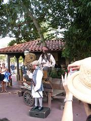 Pirate Tutorial - Mack ...& Jack (bigbrian-nc) Tags: world plaza jack magic kingdom disney cast sparrow pirate caribbean member wdw walt mack capt tutorial adventureland