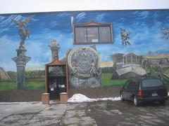 Plazo Los Gallos Mural by Pablo Alatorre