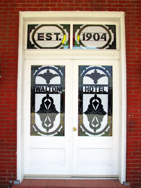 Front Doors for Hotel Walton