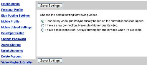 YouTube Qualität