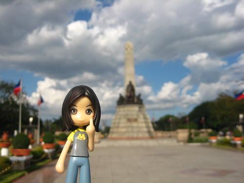 Nazuna at the Rizal Park