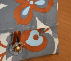 Artsy Clutch from Bend the Rules Sewing