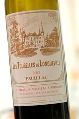 2003 Les Tourelles de Longueville, Pauillac