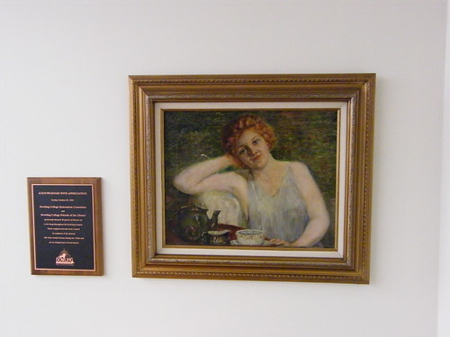 Portrait and Plaque