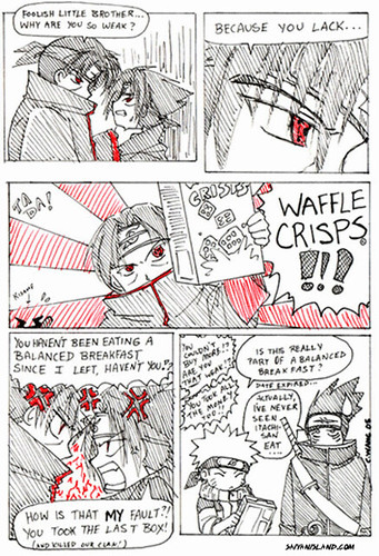 Naruto / Naruto Shippuuden Comic Strip - The Source Of Weakness by