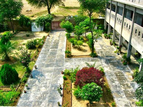 Dadi's Madrasah - courtyard