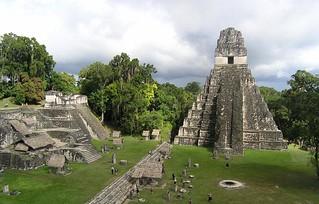 the jungle ruins of Tikal, Guatemala
