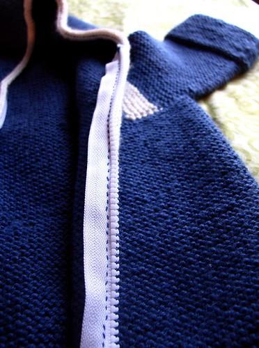 I sewed a zipper!
