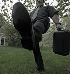 Ministry of Silly Walks 366.143 (Infinite Monkeys) Tags: silly kirby walks ministry python roulette monty fgr