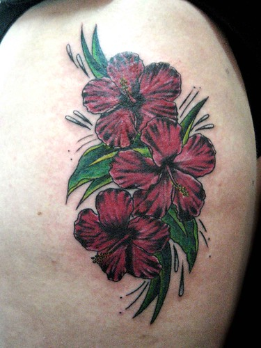 angel hibiscus tattoo,bird tattoos,arrow tattoos:I want to get a tattoo