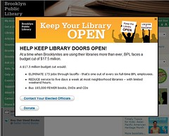Brooklyn Public Library petition