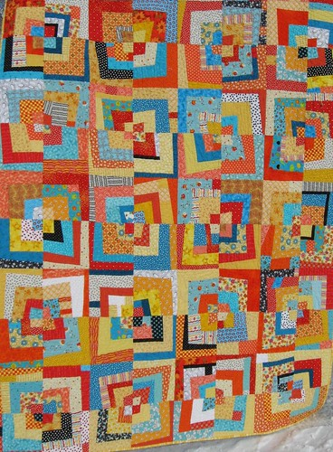 Ms LauraJay's Amazing Sunshine Quilt