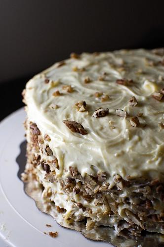Carrot cake w/dreamy creamy white chocolate frosting