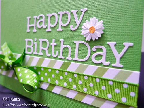 Kate Spade Inspired Happy Birthday classic green CARD SOLD – Green Birthday Card