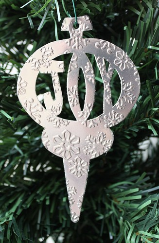 Snowflake Joy Ornament