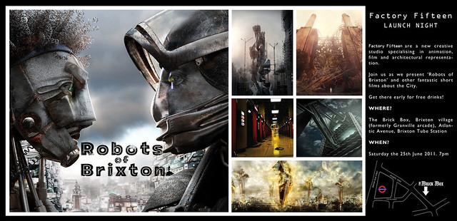 FactoryFifteenLaunchrobotsofBrixton