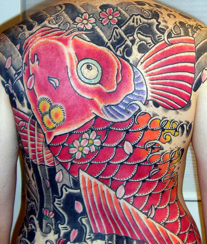 koi dragon tattoo. Koi Tattoo Three Years Old in