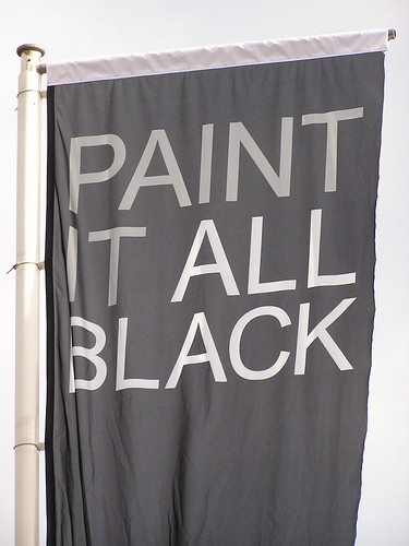 Paint it all black