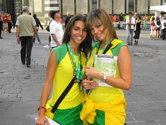 Brazil Girls! () Tags: brazil vacation two italy woman holiday sexy church girl smile brasil florence italia chica cathedral basilica brasilien chiesa tuscany bonita firenze garota mulheres latina frau mujeres fille rtw eglise brasile elated vacanze morena brsil roundtheworld globetrotter brazili lamorena houseofworship schn   worldtraveler southatlanticocean   brazilgirls    federalrepublicofbrazil