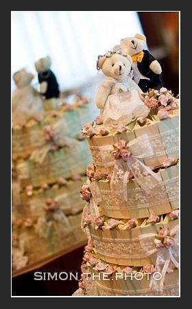 the wonderful wedding cake
