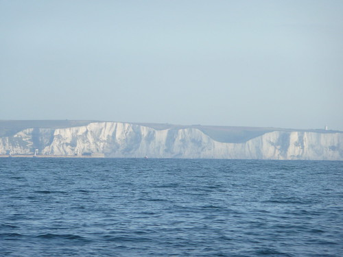 The White Cliff from the Channel