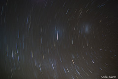 Estrellas (Exposure: 34 min) (Andrs Martn / Tincho) Tags: black night stars noche arm