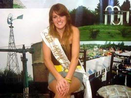 Gisela Ponce - 2da. Princesa de la Fiesta Nacional del Producto Lacteo