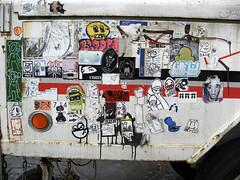 (shoehorn99) Tags: nyc streetart blanco dave sticker josh vip cdamage melove vampy ras bloke unseen eggo foob pirateface uwp zoltron bytedust 14bolt sparkysuperfly bloopa melvind billikidbrand apeplatoon