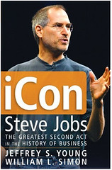 Steve Jobs on book cover