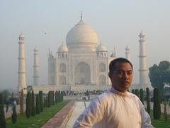 Me and my Taj Mahal